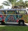 vw hippie van